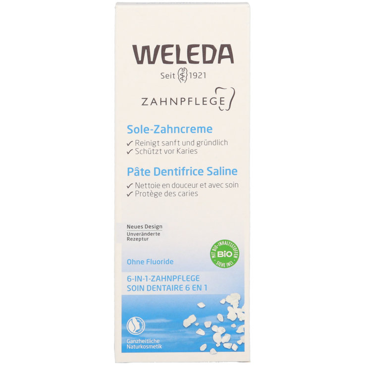 Toothpaste for Adults - Weleda Saline Toothpaste