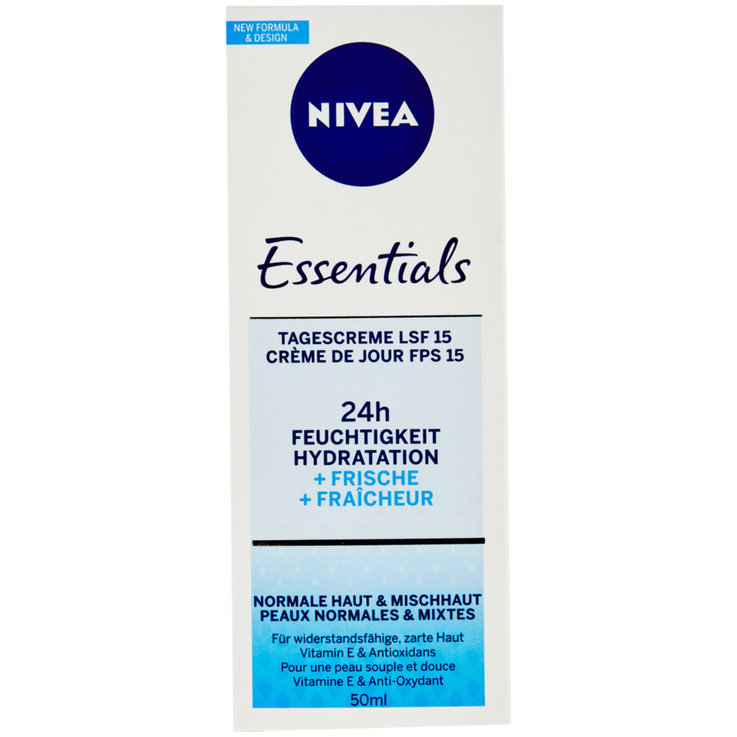 Normal & Mixed skin - Nivea Essentials Moisturizing & Refreshing Day Cream