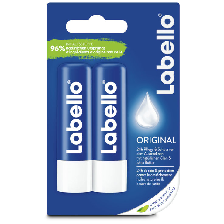 Lip Care - Labello Duo Classic Care
