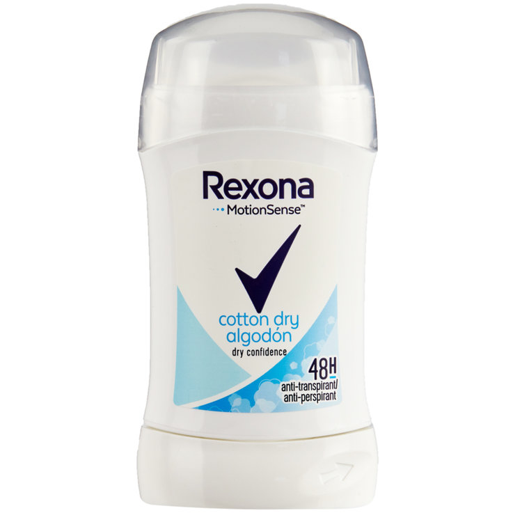 Roll-On & Stick Deodorant - Rexona Déodorant en stick Cotton Dry