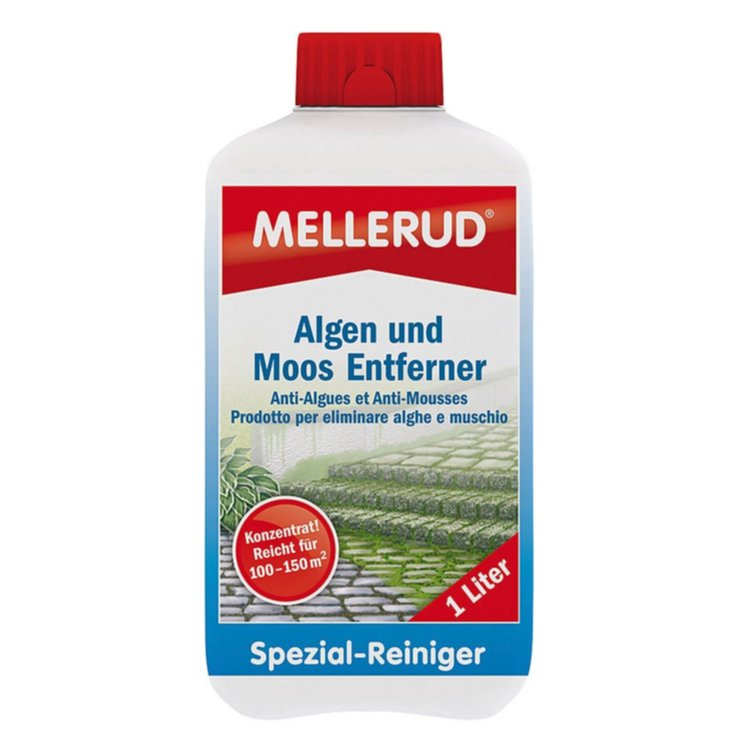 Descaler & Specialty Cleaners - Mellerud Algae & Moss Cleaner
