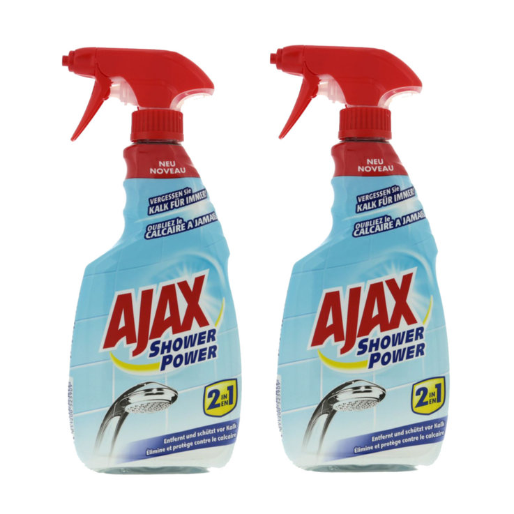 Buy Ajax Showerpower Cleaning Spray 2x 500ml Cheaply Coop Ch