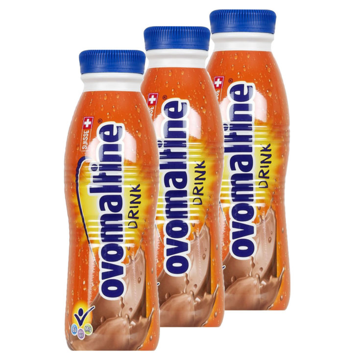 Chocolate Milk Drinks - Wander UHT Ovo Drink Chocolate Beverage 3x  500ml