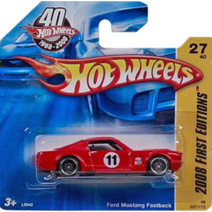 Cars & Vehicles - Hot Wheels Car 3 Years+