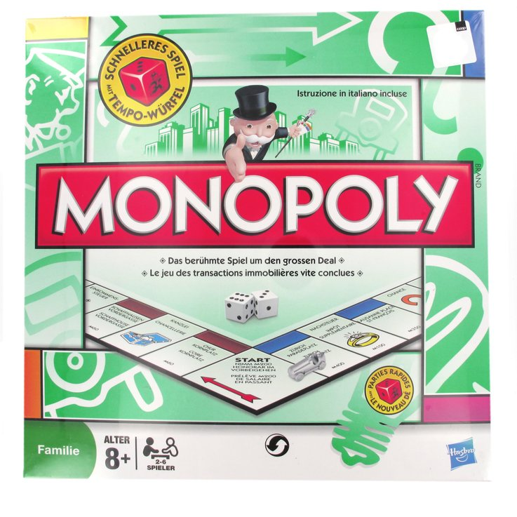 Games & Puzzles - Classic Monopoly Swiss Edition 8 Years+