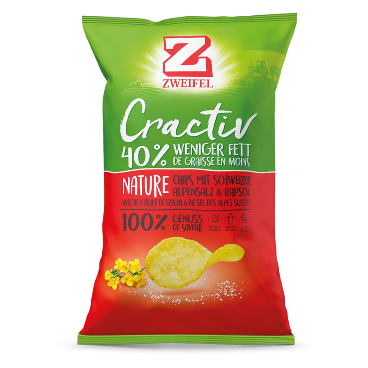 Chips nature - Zweifel Chips Cractiv nature