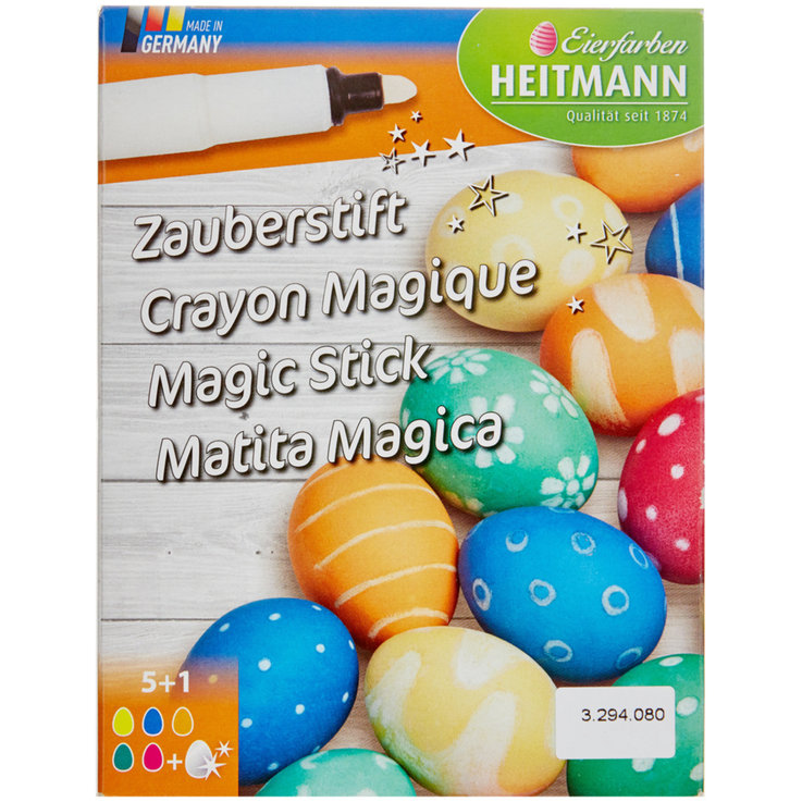 Decoration & Accessories - Easter Egg Magic Markers 6 Colours