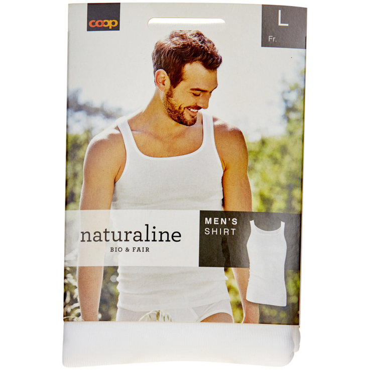 Men's shirt - Naturaline L Men's White Undershirt