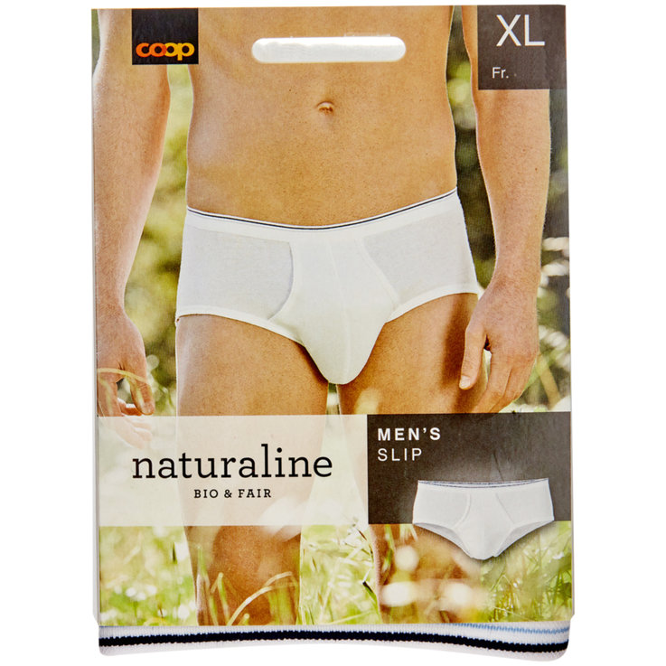 Underwear - Naturaline XL Men's White Underwear