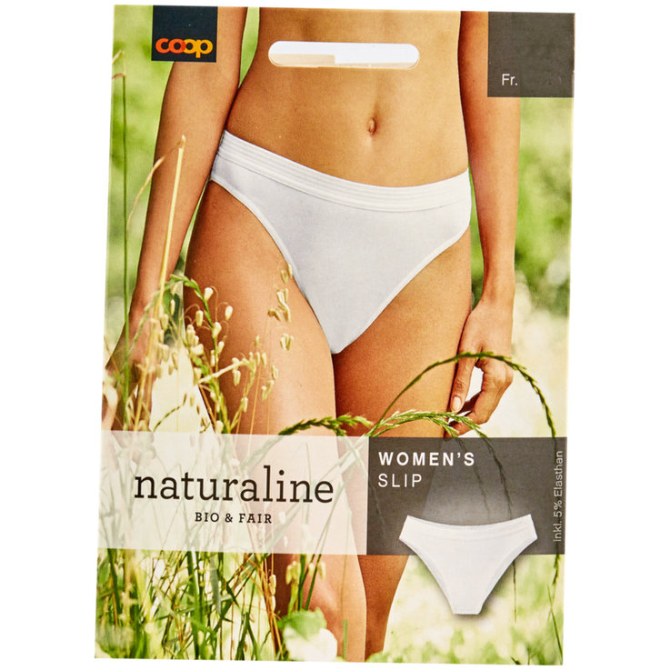 Underwear - Naturaline White Women's Panties S