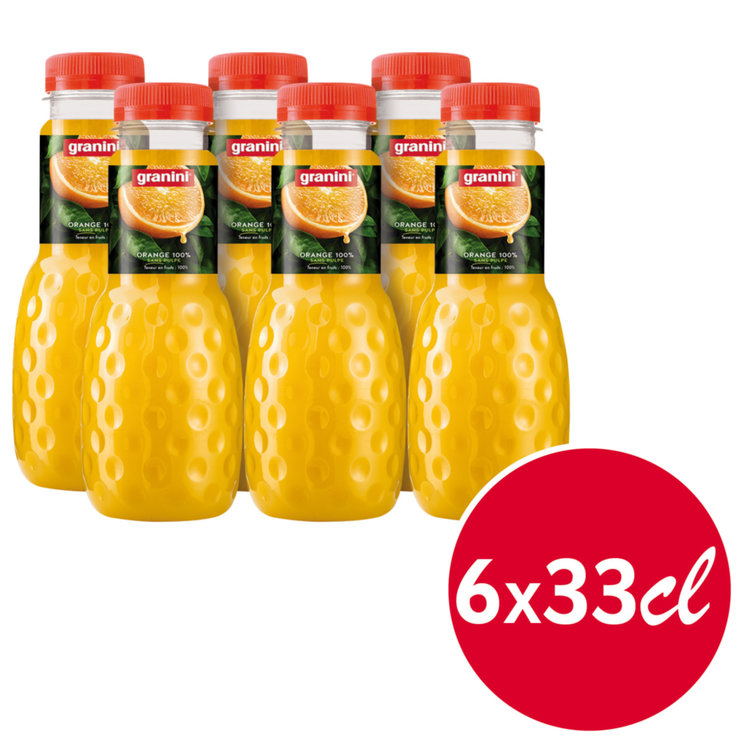 Orange Juice - Granini Orange Juice 6x  33cl