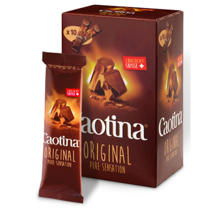 Chocolate - Caotina Chocolate Powder Beverage Mix 10 Portions