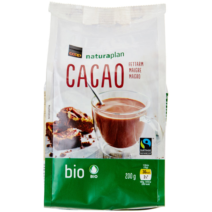 Cooking Chocolate - Naturaplan Organic Fairtrade Low Fat Cocoa Powder