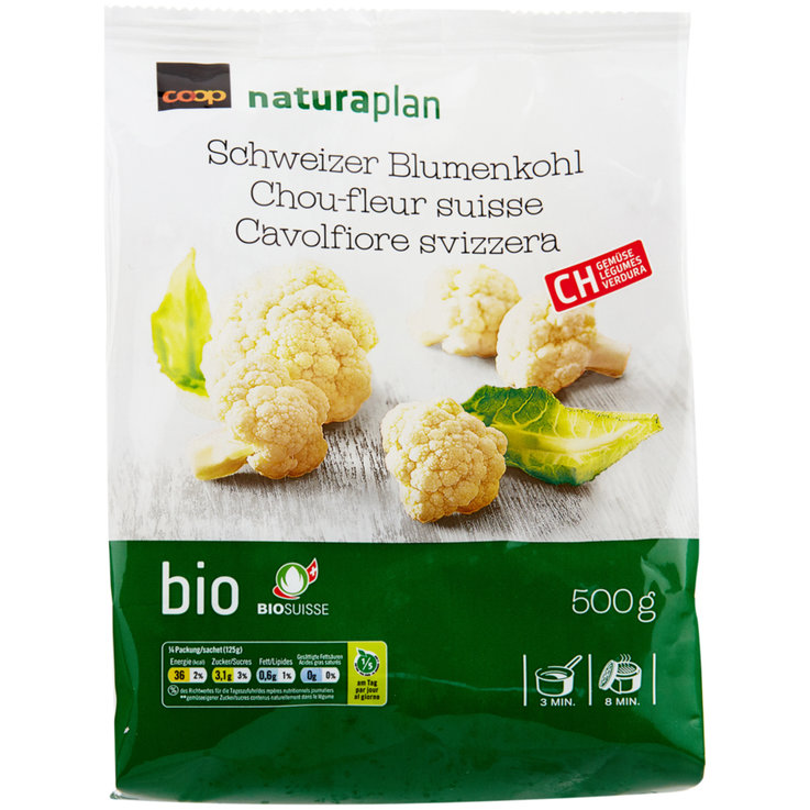 Vegetables - Naturaplan Organic Frozen Cauliflower