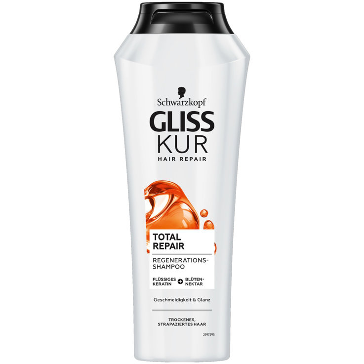 Shampoo Repair & Color - Shampoo Total Repair Gliss Kur