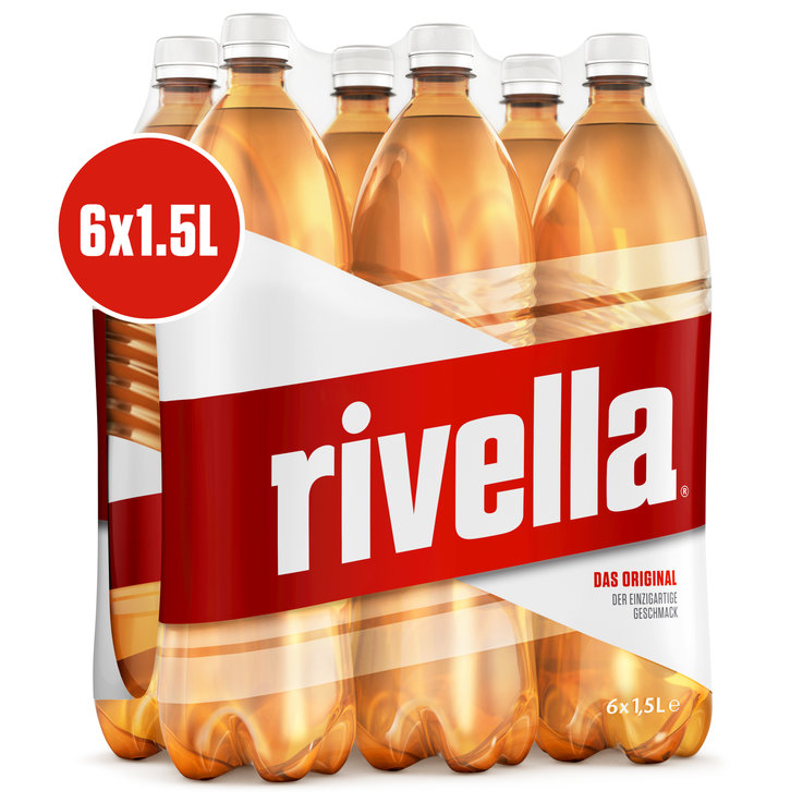 Multipacks ab 1 Liter - Rivella Rot 6x1,5l