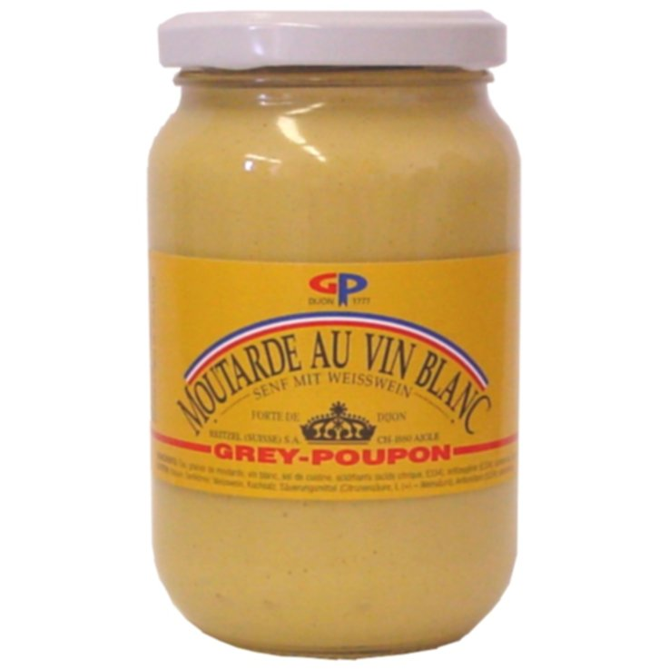Mustard - Grey-Poupon Strong Mustard with White Wine