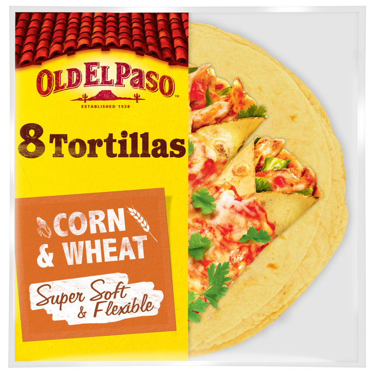 Pains galettes & Tortillas - Old El Paso Tortillas au maïs
