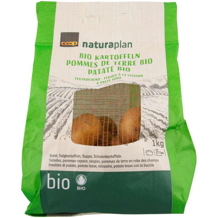 Potatoes - Naturaplan Organic Waxy Potatoes (Green Bag)