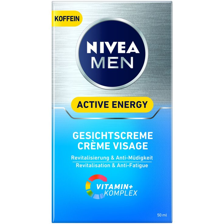 Men''s Care Products - Nivea Men Active Energy Facial Cream