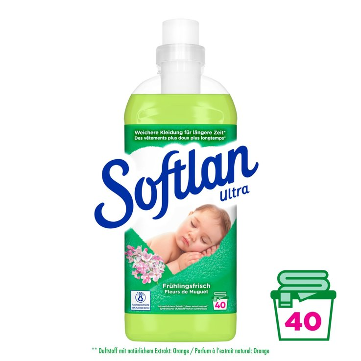 Single pack - Softlan Spring Fresh Fabric Softener