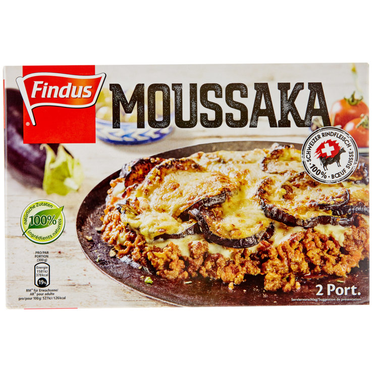 More Frozen Meals - Findus Moussaka TK 600g