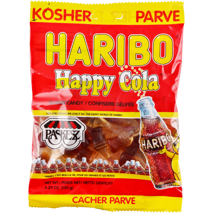 Caramelle gommose - Haribo Caramelle gommose Happy Cola Kosher