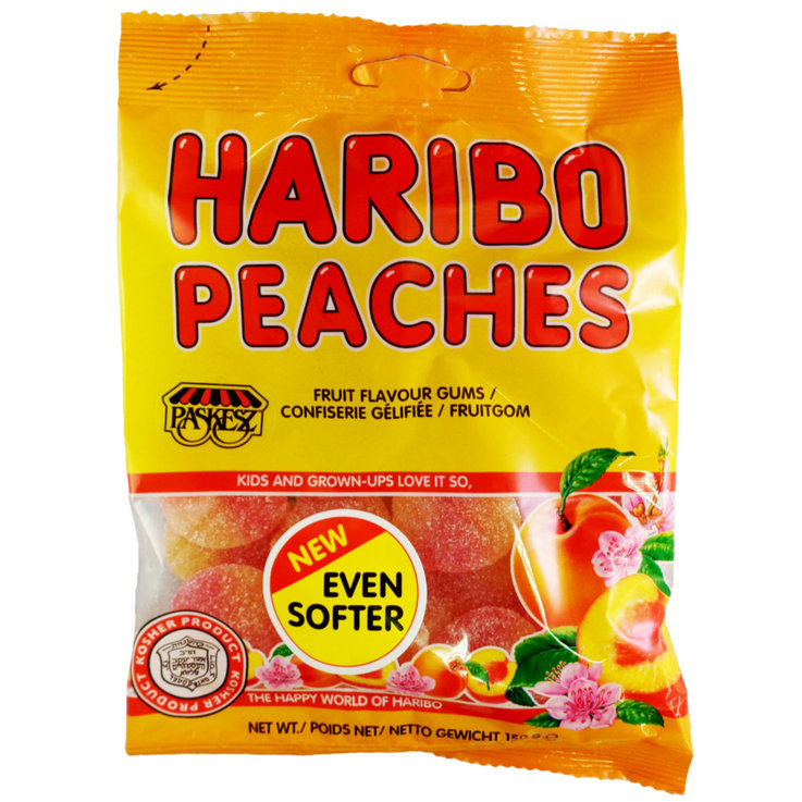 Gummies - Haribo Kosher Peach Gummies