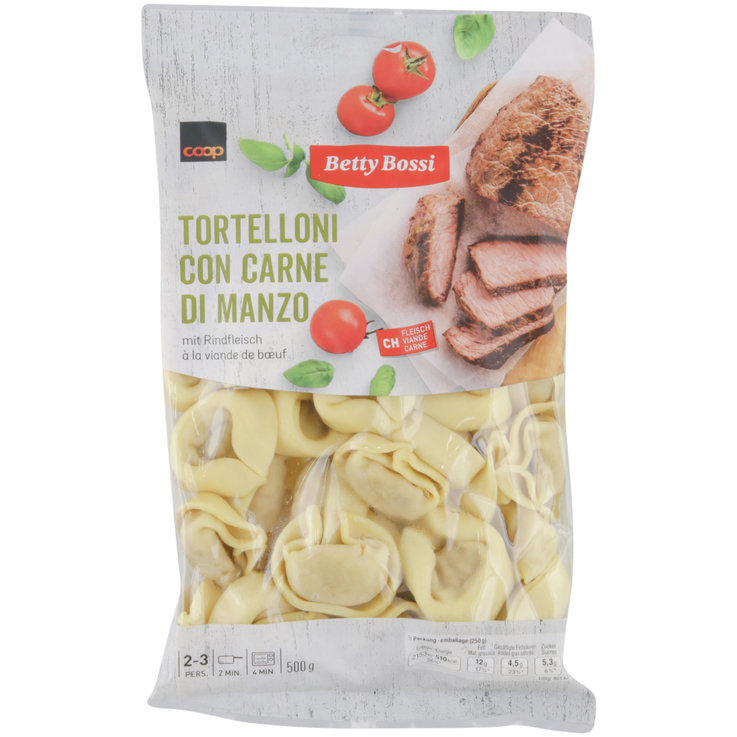 Ravioli with Meat Filling - Betty Bossi Meat Tortellini