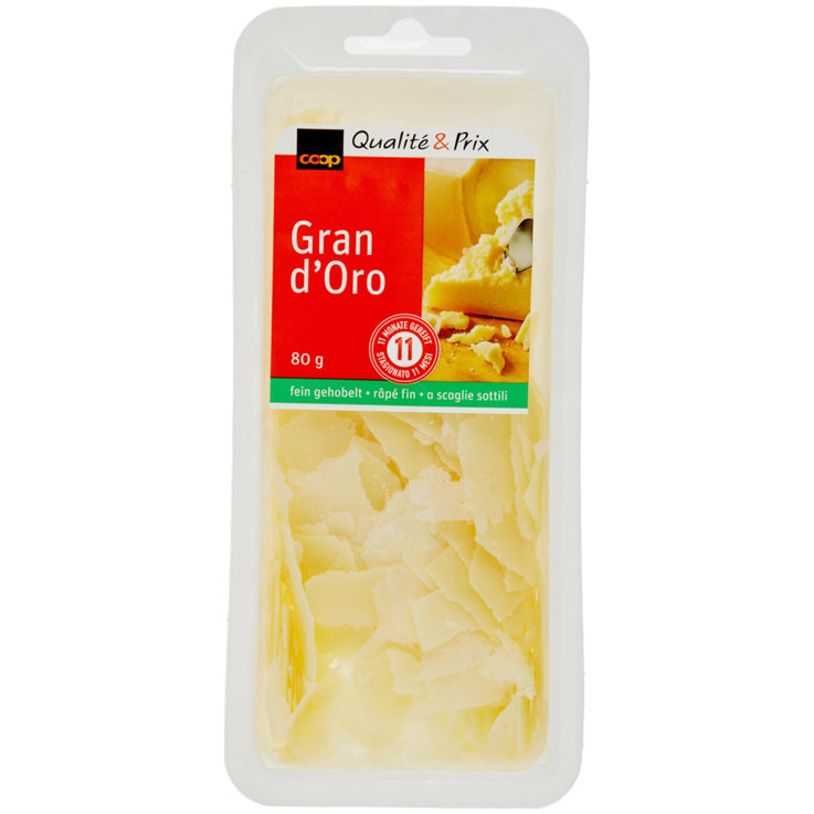 Cheese Snacks & Appetizers - Grana Padano Finely Grated