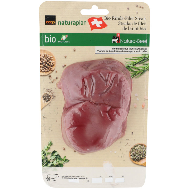 Beef - Naturaplan Organic Beef Fillets 2 Pieces ca. 235g