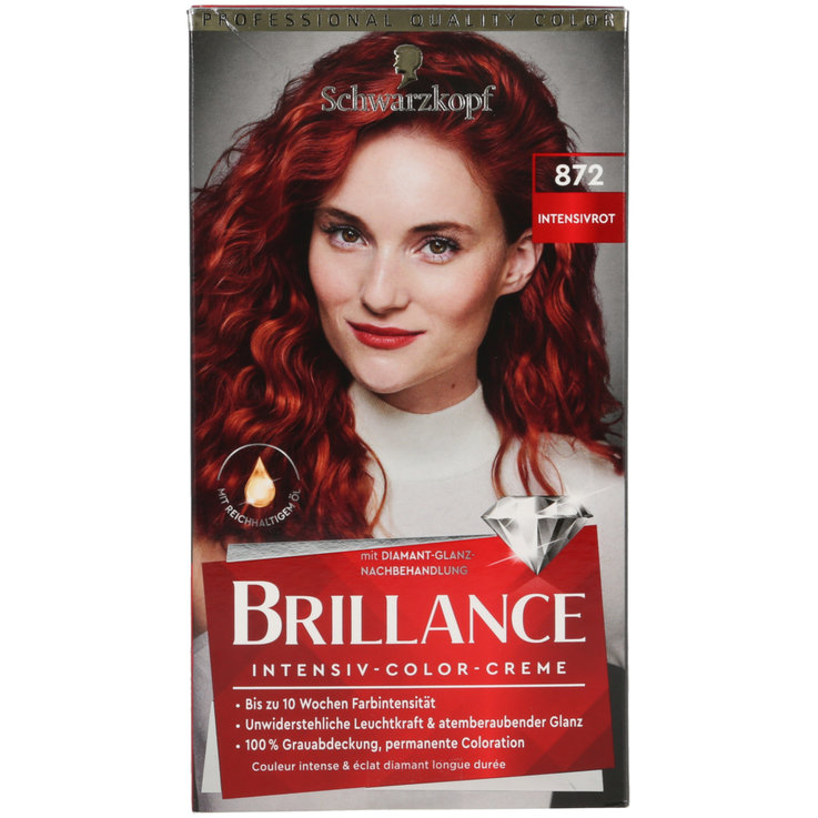 Coloured - Brillance Intense Black 872 Hair Dye