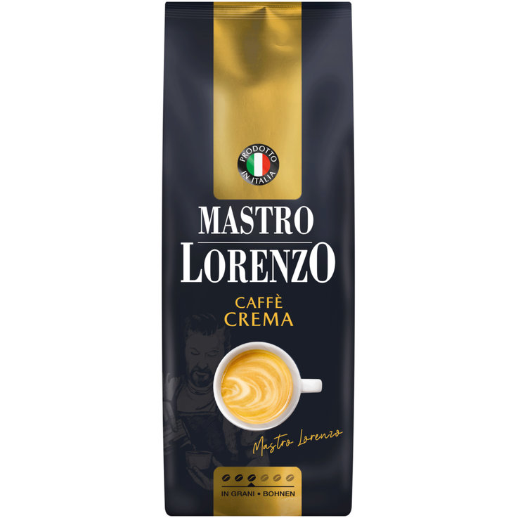 Coffee Beans - Mastro Lorenzo Crema Coffee with Cream Coffee Beans