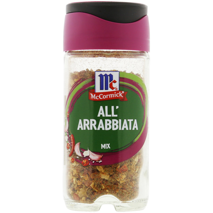 Spice Mixes - McCormick All'Arrabbiata Pasta & Pizza Seasoning