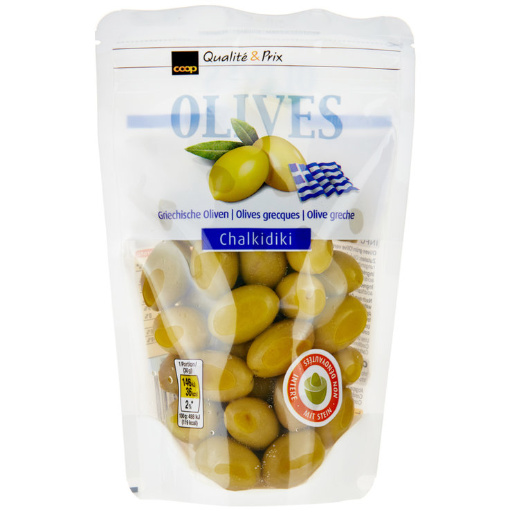 Olives - Greek Green Olives