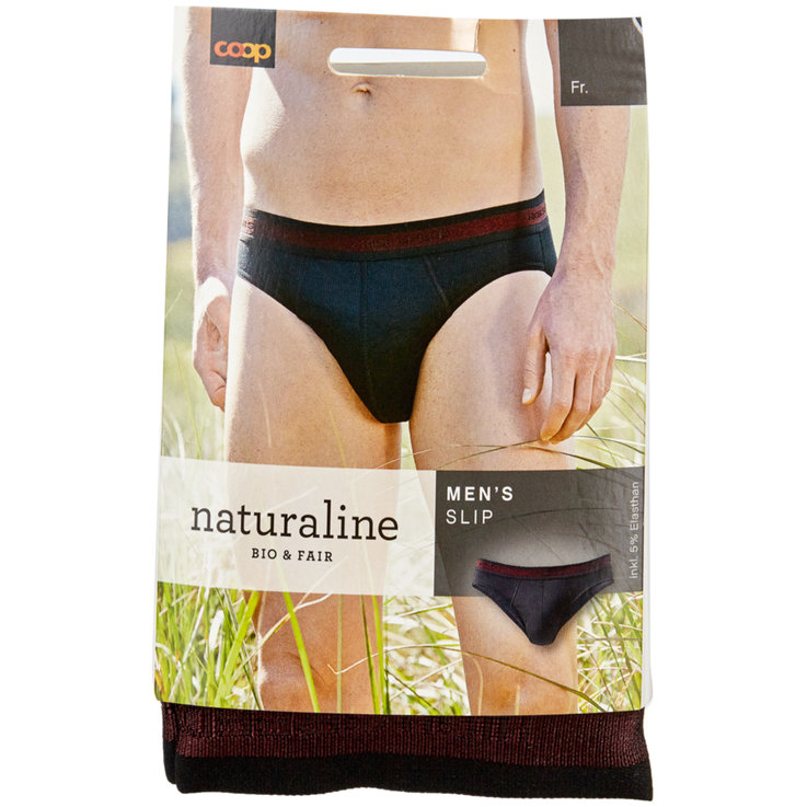Underwear - Naturaline Black Men's Underwear XL