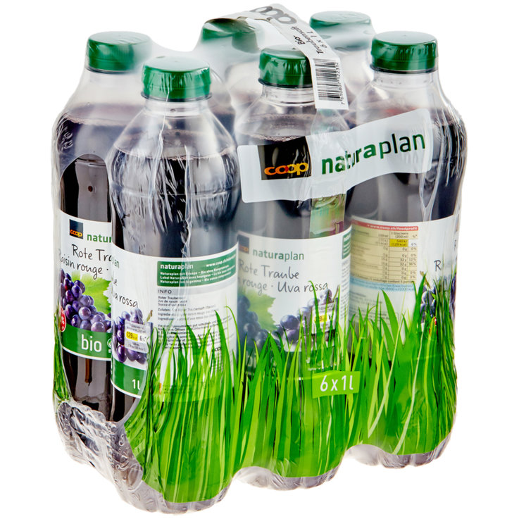 Grape Juice & Grape Must - Naturaplan Organic Grape Juice 6x1l