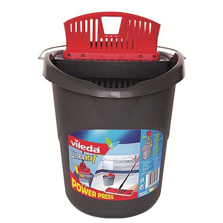 Floor Mops & Buckets - Vileda UltraMat Bucket with Wringer