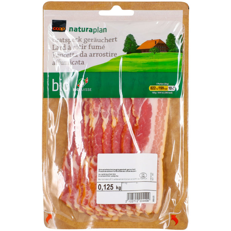Bacon - Naturaplan Organic Bacon ca. 110g