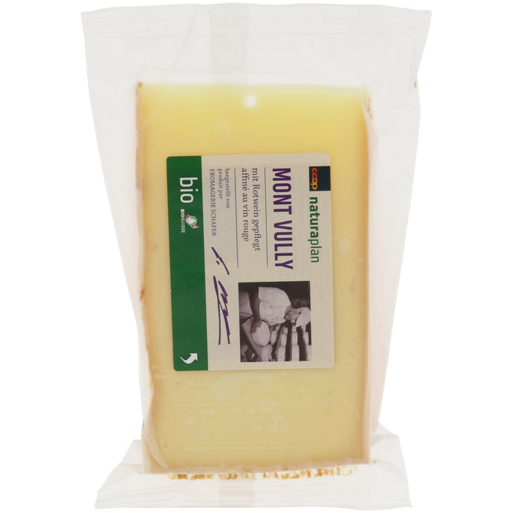 Fromages de montagne - Naturaplan Bio Fromage Mont Vully 225g