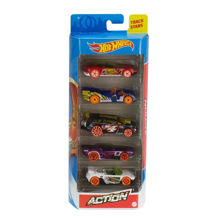 Cars & Vehicles - Hot Wheels Toy Cars 5 Pieces
