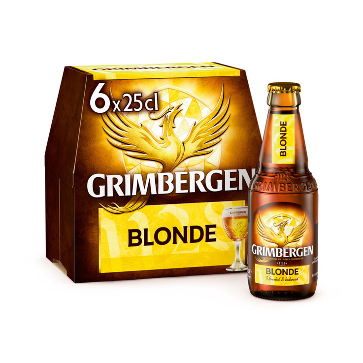 Beer Multipacks - Grimbergen Abbey Beer 6x25cl