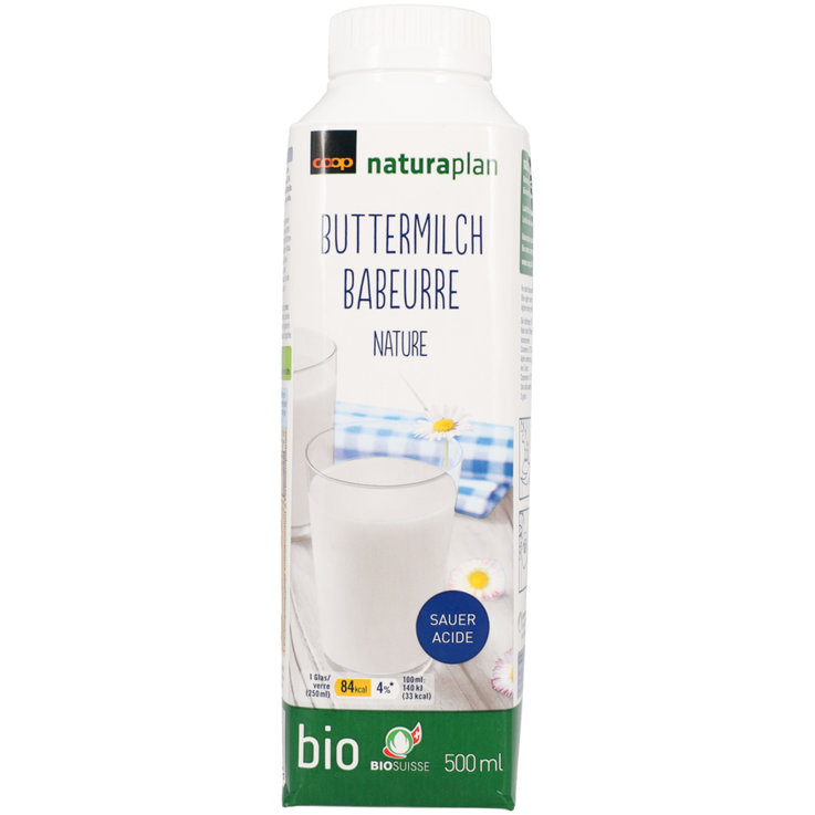 Yogurt Drinks & Buttermilk - Naturaplan Organic Natural Sour Buttermilk