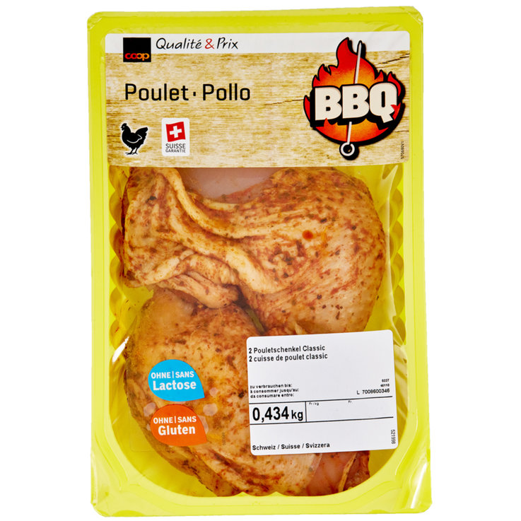 Poultry - Marinated Chicken Thighs 2 Pieces 450g