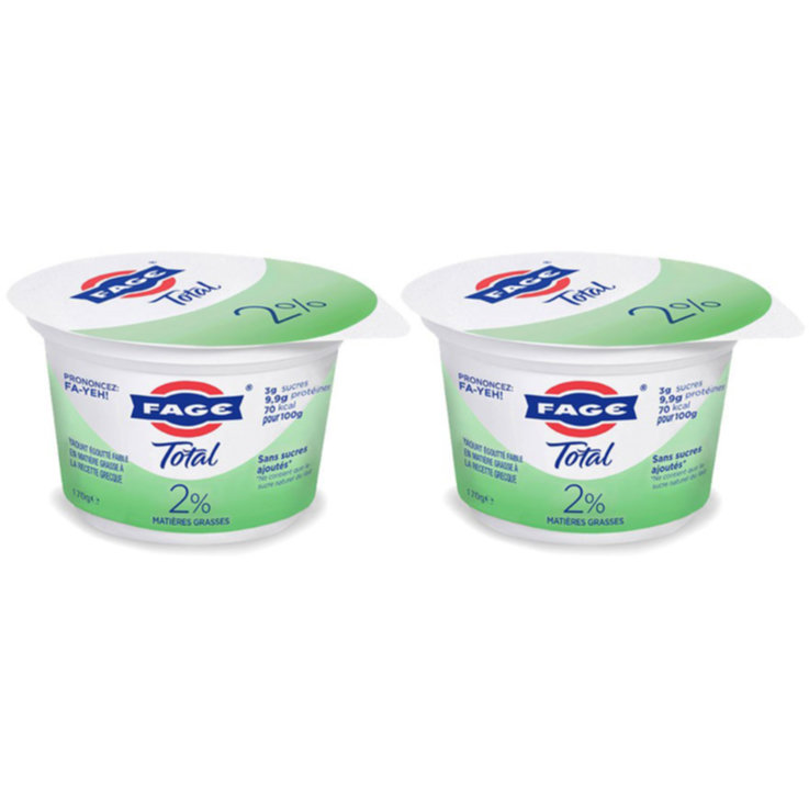 Yogurt al naturale - Fage Total Yogurt greco naturale 2% 2x  170g