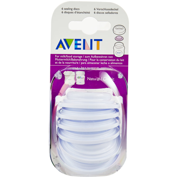 Baby Bottles & Accessories - Avent Bowl Covers 6 Pieces