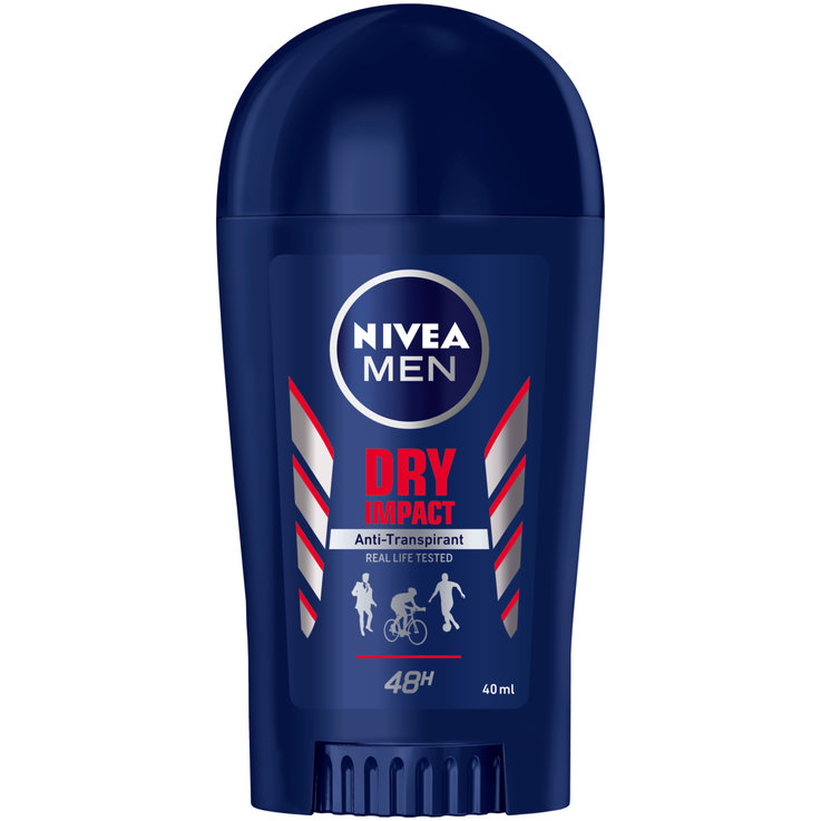 Deodoranti  roll-on e stick - Nivea For Men Deo D. Impact Stick