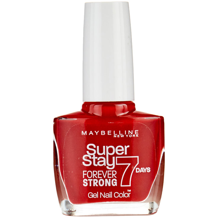 Ongles - Maybelline Vernis à ongles Forever Strong 06 Deep Red