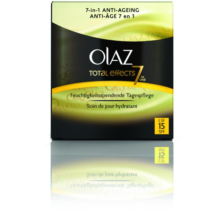 Mature Skin & Anti-Age - Olaz Total Effects Anti-Age Day Cream with UVA/UVB Protection