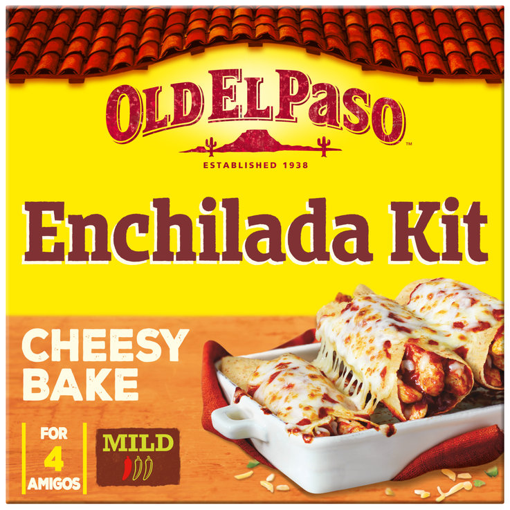Fladenbrote & Tortillas - Old El Paso Enchilada Kit
